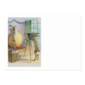 Easter Bunny Camera Photography Easter Colored Egg Large Business Card