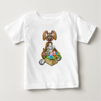 Easter Bunny Cartoon Character Baby T-Shirt