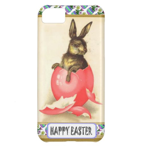 Easter bunny case for iPhone 5C