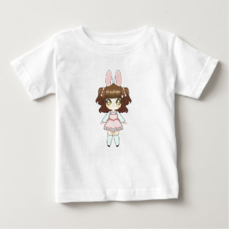Easter Bunny Chibi Girl Baby T-Shirt