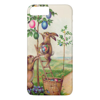 Easter Bunny Colored Egg Tree iPhone 7 Plus Case