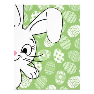 Easter bunny customized letterhead