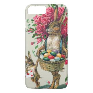 Easter Bunny Dad Child Rose Basket Egg iPhone 8 Plus/7 Plus Case