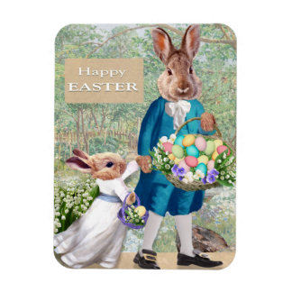 Easter Bunny Dad Magnet