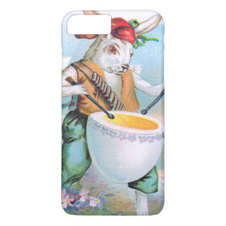 Easter Bunny Drummer Drum Egg iPhone 7 Plus Case