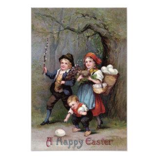 Easter Bunny Easter Egg Hunt Forest Photograph