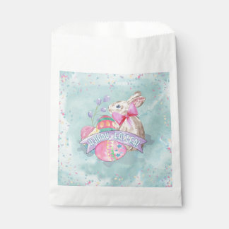 Easter Bunny, Eggs and Confetti ID377 Favour Bag