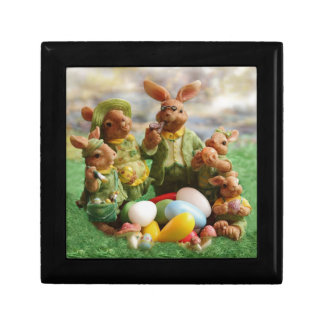Easter bunny family gift box