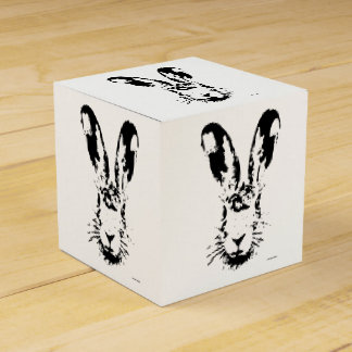 Easter bunny favor box