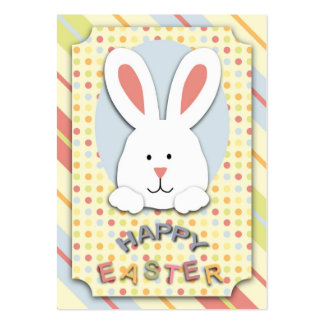 Easter Bunny Gift Tag Pack Of Chubby Business Cards