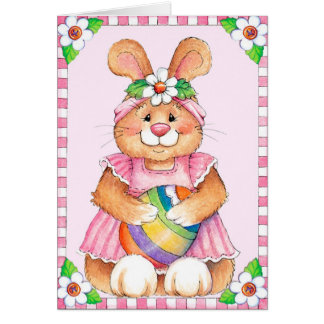 Easter Bunny - Greeting Card