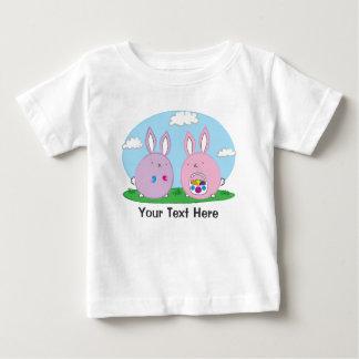 Easter Bunny Hiding Eggs Tee Shirt