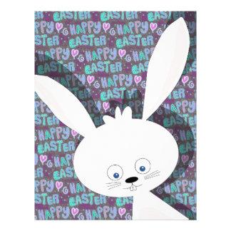 Easter bunny letterhead
