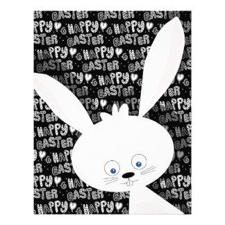Easter bunny letterhead design