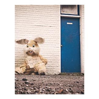 Easter Bunny Letterhead Template