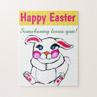 EASTER BUNNY LOVE puzzle