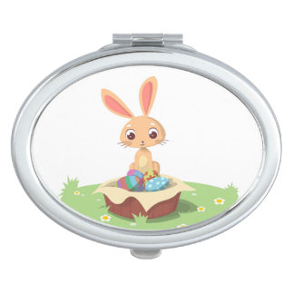 EASTER BUNNY MIRROR FOR MAKEUP