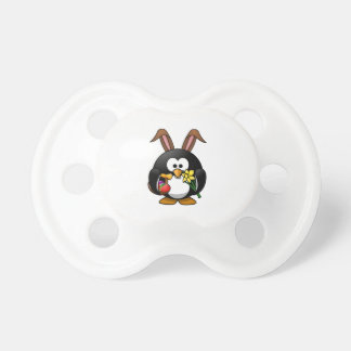 Easter Bunny Penguin Pacifier