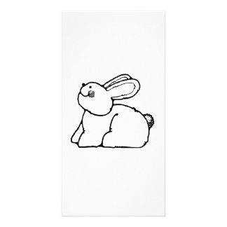 Easter Bunny Personalized Photo Card
