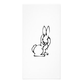 Easter Bunny Photo Greeting Card