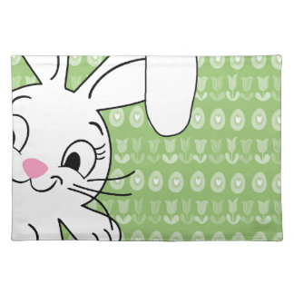 Easter bunny placemat