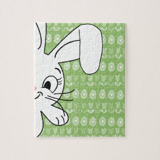 Easter bunny puzzles