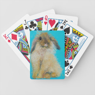 Easter Bunny Rabbit Bicycle Playing Cards