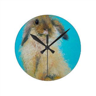 Easter Bunny Rabbit Clock