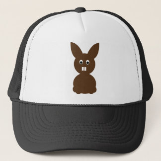 easter bunny rabbit trucker hat