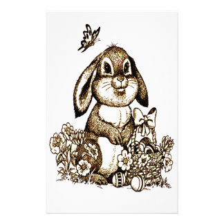 Easter Bunny Stationery