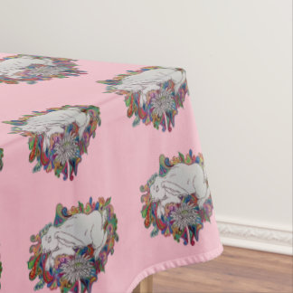 Easter bunny tablecloth