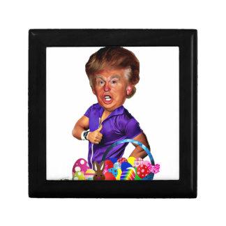 easter bunny trump gift box