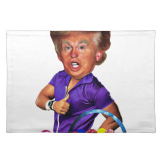 easter bunny trump placemat