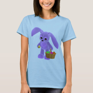Easter Bunny with basket T-Shirt