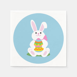 Easter Bunny with Egg | Luncheon Paper Napkins