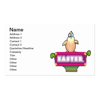 Easter Business Card Template