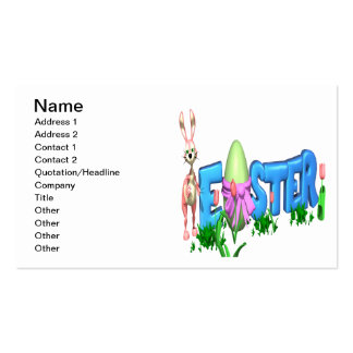 Easter Business Cards