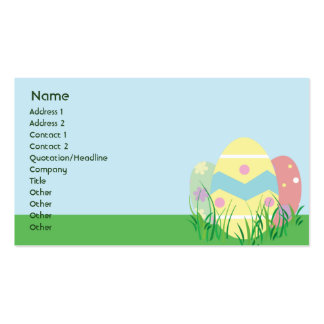 Easter - Business Pack Of Standard Business Cards