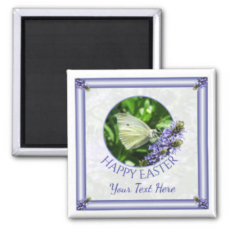 Easter Butterfly Custom Magnet