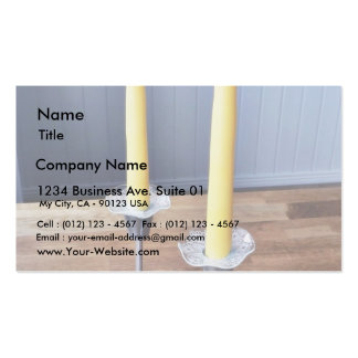 Easter Candles Business Card