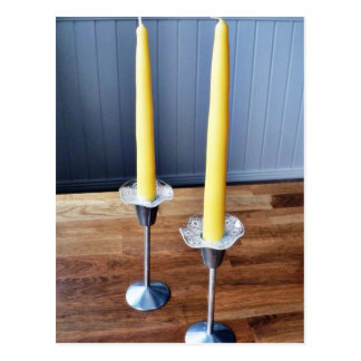Easter Candles Postcard