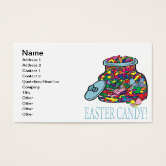 Easter Candy Business Card