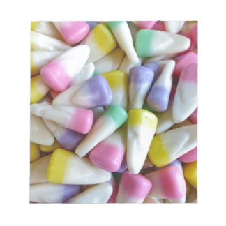 Easter Candy Corn Notepad