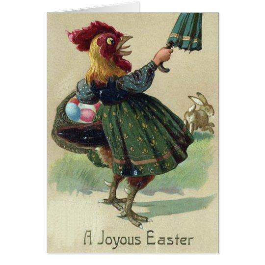 Easter Card - Run Rabbit