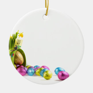 Easter Ceramic Ornament