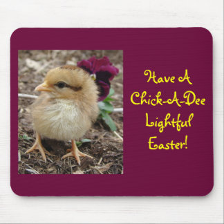 Easter Chick-A-Dee-Light Mouse Pad
