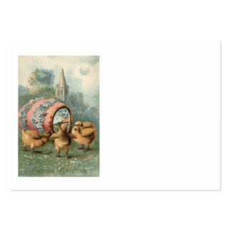 Easter Chick Colored Egg Church Forget Me Not Large Business Card