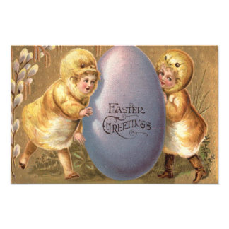 Easter Chick Costume Colored Painted Egg Photograph