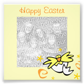 Easter Chick Frame Photo