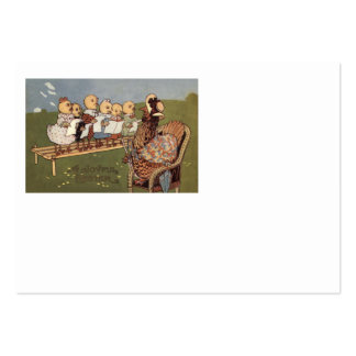 Easter Chick Hen Choir Large Business Card